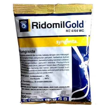 jual syngenta ridomil gold mz 4 64 wg fungisida sistemik kontak 100 gram di lapak toko