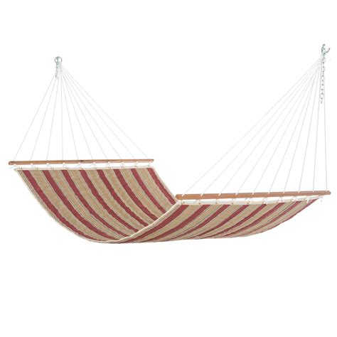 chili stripe quilted hammock dfohome