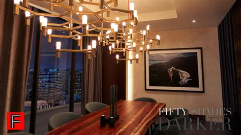 christian grey room own from christian grey s apartment in fifty shades darker the dining room and furniture