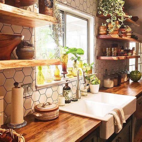 bohemian kitchen design 21 bohemian kitchen design ideas decoholic