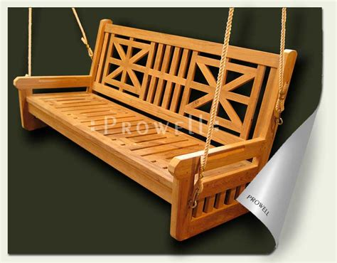 wooden swing patterns nokw wooden porch swing plans guide
