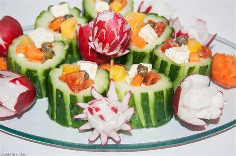 come cucinare cetrioli ricetta cetrioli ripieni ricette di cucina