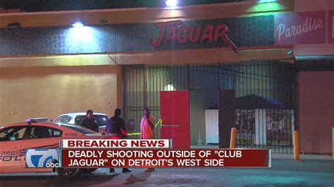 and killed outside club on detroit s west