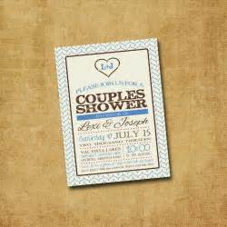 printable couples shower invitation rustic by paxprintables