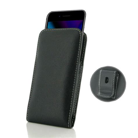 leather clip pouch iphone 8 leather pouch with belt clip pdair sleeve holster