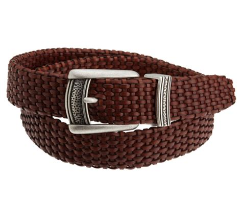 denzou braided leather belt leather4sure leather belts