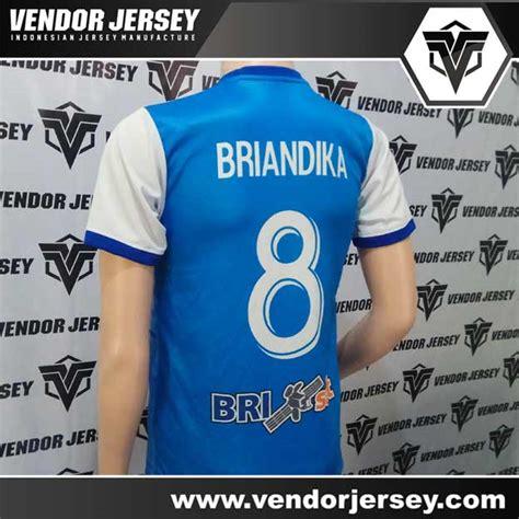 Vendor Jersey Futsal Seragam Futsal Custom Tangerang produksi pesanan pembuatan baju seragam futsal bri sat
