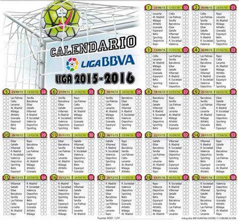 Calendario Liga Española 2016 2017 Anotando F 218 Tbol Calendario Futbolero 2016