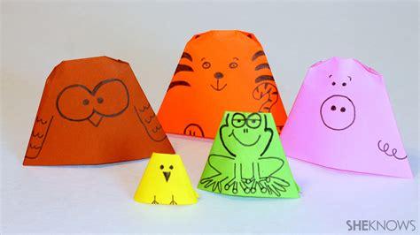 origami finger puppet 3 kid friendly origami tutorials