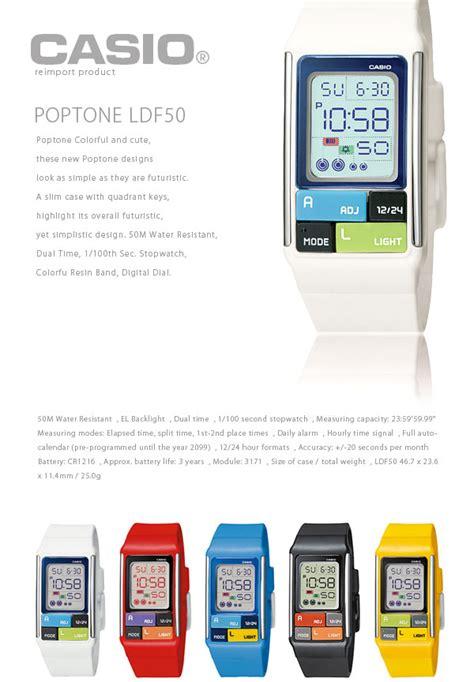 Casio Poptone Ldf 50 7dr sale แหลก casio ถ กมาก นาฬ กา casio ท กร นของ