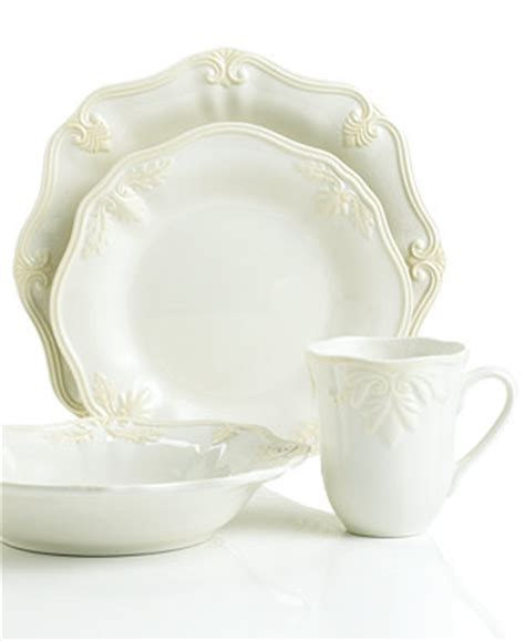 Butlers Pantry Dishes by Lenox Dinnerware Butler S Pantry Gourmet 4 Place