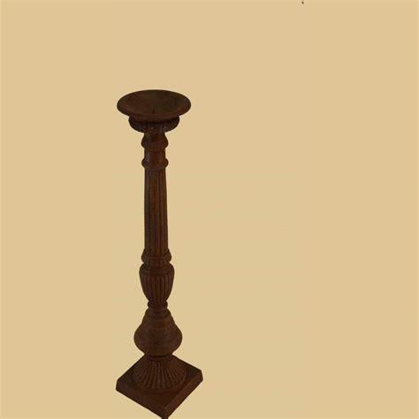 hohe kerzenhalter hoher kerzenst 228 nder 108cm antik rost garten