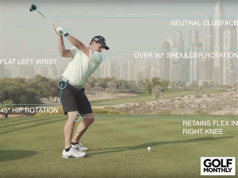 sergio garcia swing analysis sergio garcia golf swing analysis golf monthly exclusive