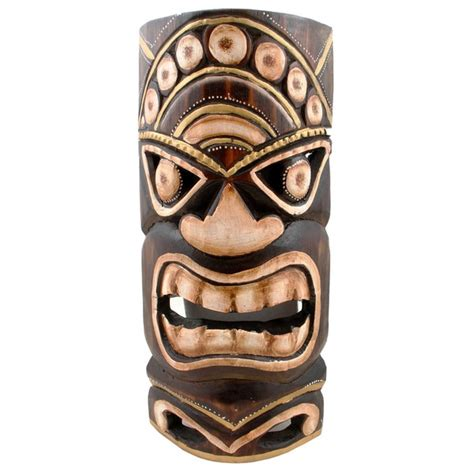 Home Goods Wall Decor by Handmade Tiki Mask Indonesia Free Shipping On Orders