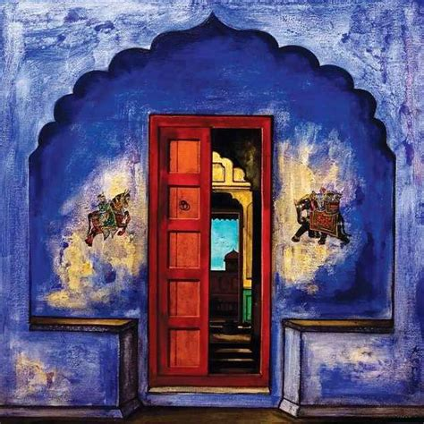 wonderful paintings south indian doors paint it blue