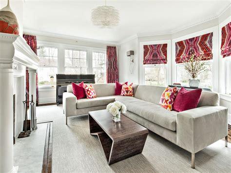 12 modern sectional living room ideas homeideasblog com 12 living room ideas for a grey sectional hgtv s