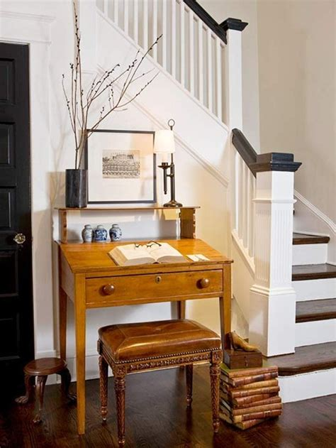Desk In Entryway bhg centsational style