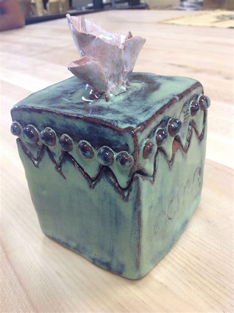 amaco ceramics stiff slab ceramic box amaco moss green glaze 05 clay
