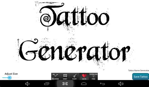 tattoo maker software download tattoo name design generator download apk for android