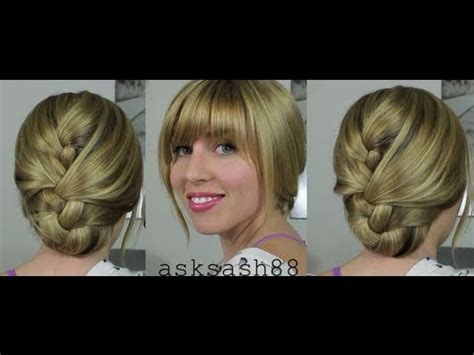 easy everyday hairstyles video download tucked french braid easy everyday hairstyles for long