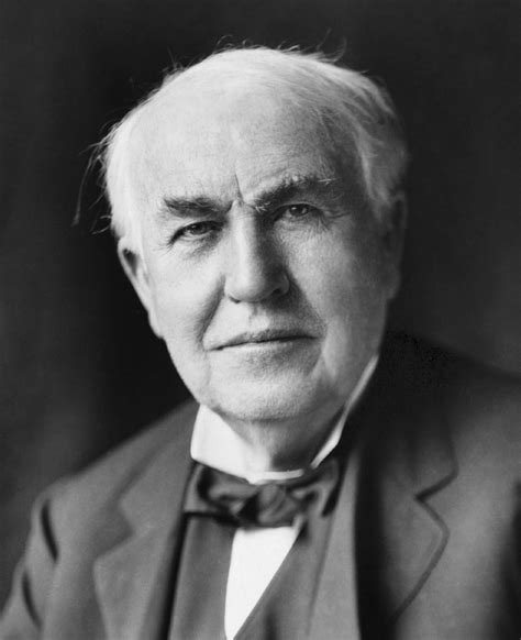 thomas a edison the inventor biography facts and quotes