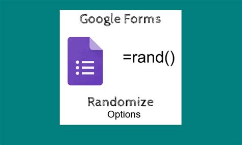 google forms tutorial 2016 automatically randomize response options in google forms