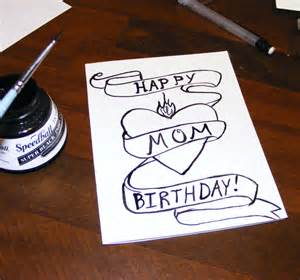 how to draw birthday things