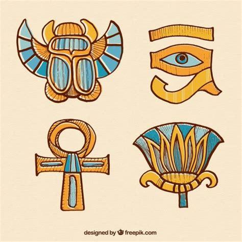 descargar imagenes egipcias gratis dibujado a mano adornos egipcios descargar vectores gratis