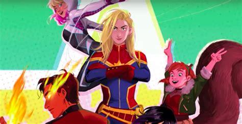 nowy film z marvela marvel rising nowa animacja z superbohaterami antyradio pl