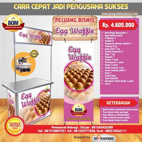Harga Tepung Egg Waffle by Paket Usaha Egg Waffle Listrik Program Bom Toko Mesin