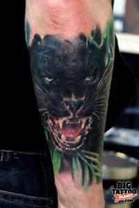 Crazy Tattoo Face Panther Flash