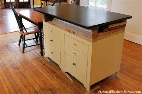 kitchen island construction how to build a small cabinet with drawers plans diy free
