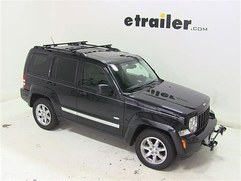 jeep liberty roof rack thule roof rack for jeep liberty 2007 etrailer com