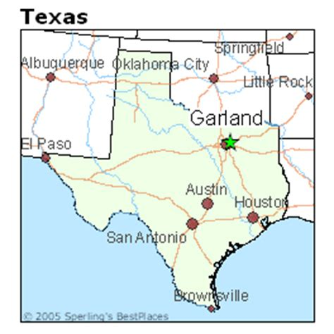 where is garland texas on map best places to live in garland texas