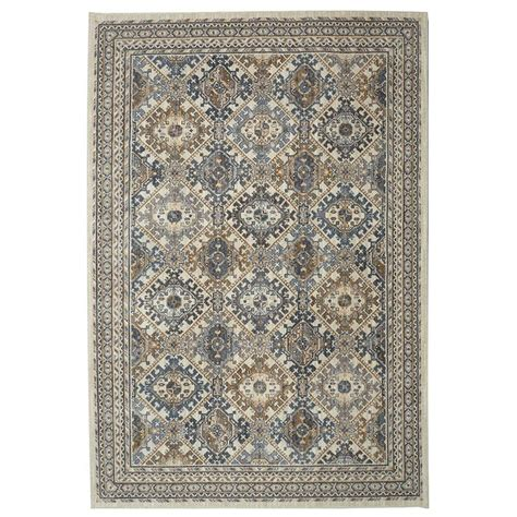 mohawk home area rugs mohawk home quinton beige 5 ft 3 in x 7 ft 10 in area rug 000118 the home depot