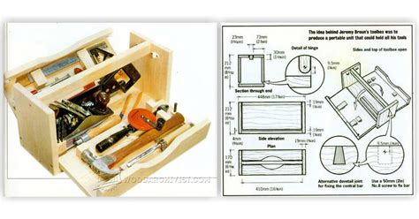 Lathe Tool Cabinet by Diy Wood Tool Box Woodarchivist