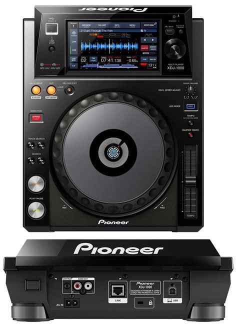 dj decks pioneer xdj 1000 turntable dj deck review the wire realm
