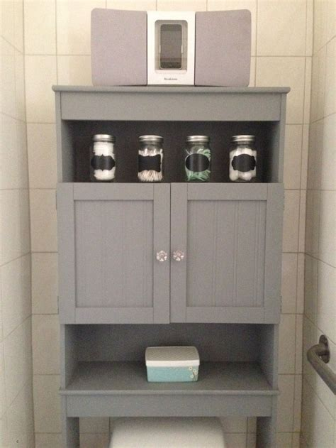 Bathroom cabinet over the toilet manicinthecity