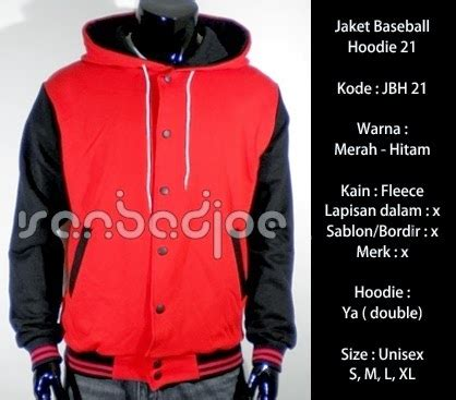 Jaket Jaket Fleece Birds Merah Hitam jaket baseball hoodie merah hitam 21 vanbadjoe