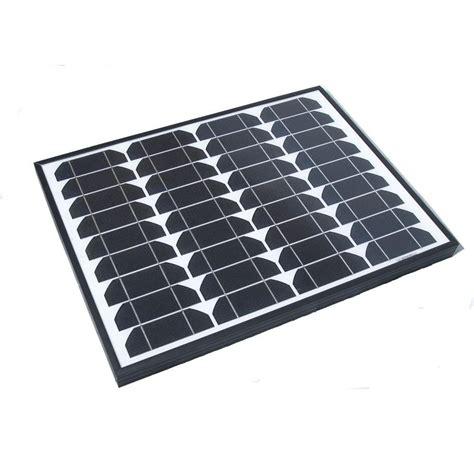 nature power 40 watt monocrystalline solar panel with