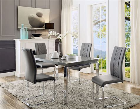 dining room furniture miami miami gray dining room set from homelegance coleman