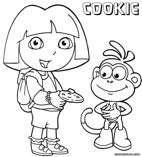 2017 Girl Scout Cookie Page Coloring Pages Scout Cookies Coloring Pages