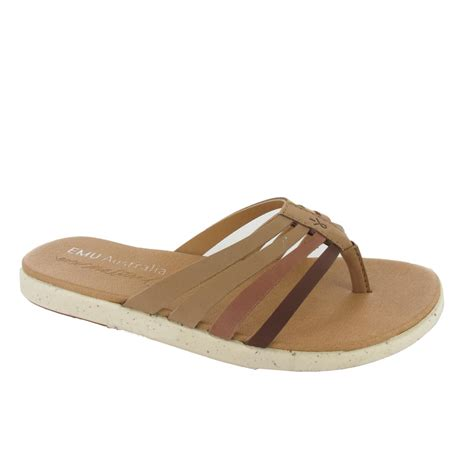 toe sandals emu palmgrove s toe post sandals shoes by mail