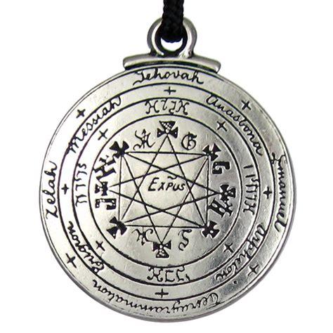 pentacle of solomon talisman pendant seal amulet hermetic