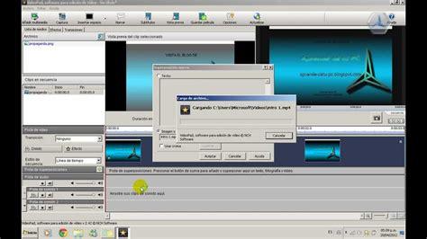youtube tutorial videopad tutorial videopad varios videos en uno youtube