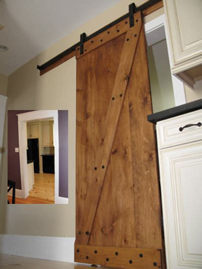 designing building and installing an interior barn door