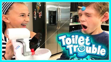Toilet Trouble Challenge T0310 the potty challenge toilet trouble