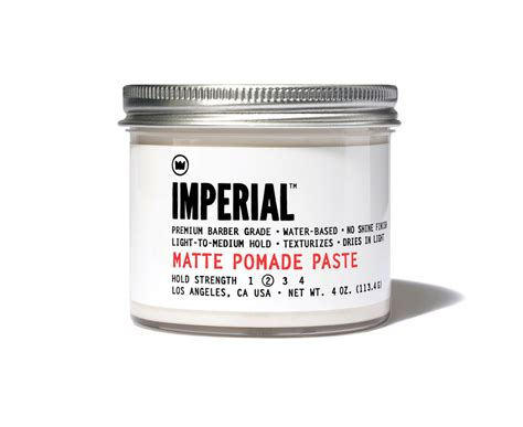 Pomade Imperial imperial matte pomade paste