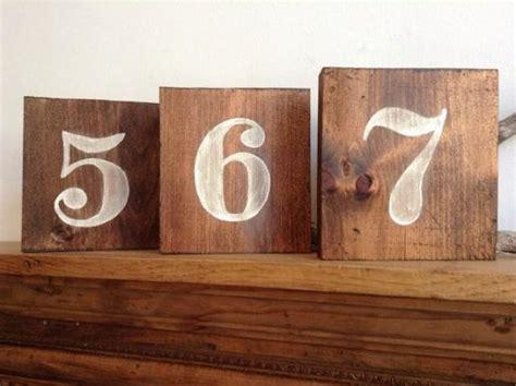 numeri tavoli ristorante rustico numeri tavola di legno tabella numeri numeri
