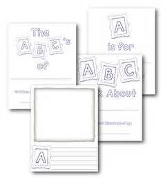 1000 Images About Kindergarten Literacy Activities On Pinterest Sight Words Word Work And Abc Book Project Template